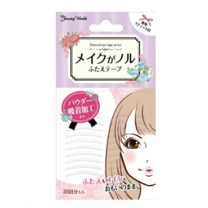 Transparent Double Eyelid Tape(Clear 30 pairs)【ENT241】